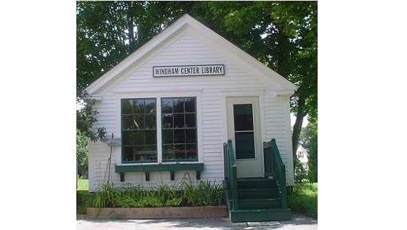 Windham Center Circulating Library (picture, 2012)