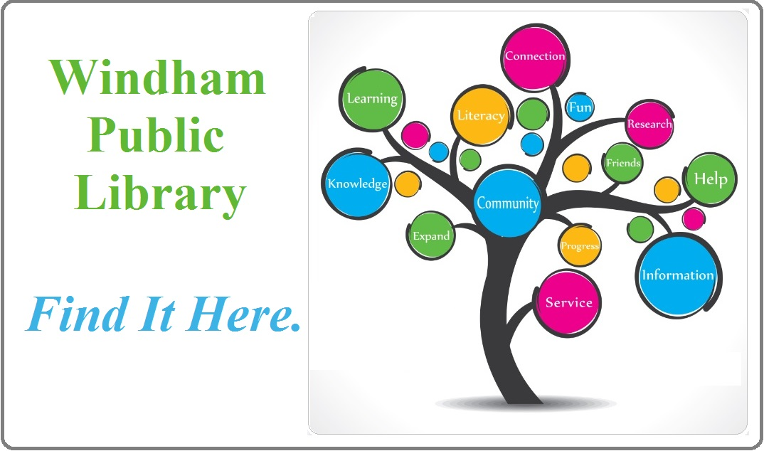 Windham Public Library card